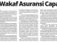 Potensi Wakaf Asuransi Capai Rp 1T