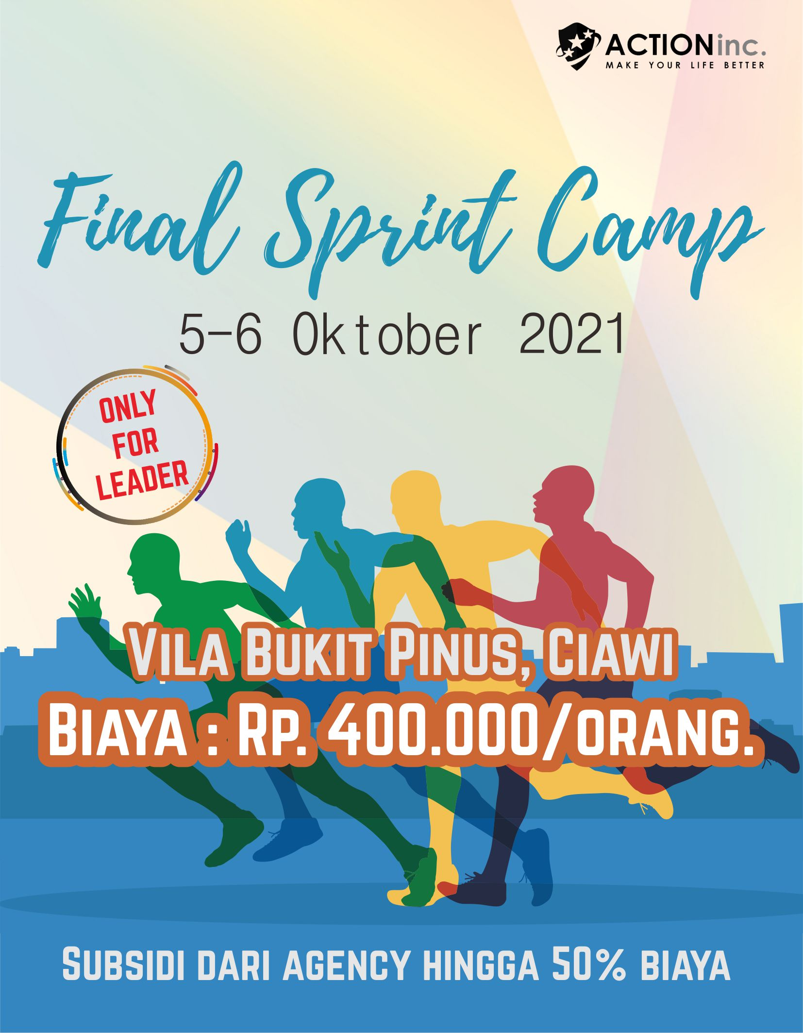 FINAL SPRINT CAMP  5 - 6 Oktober 2021